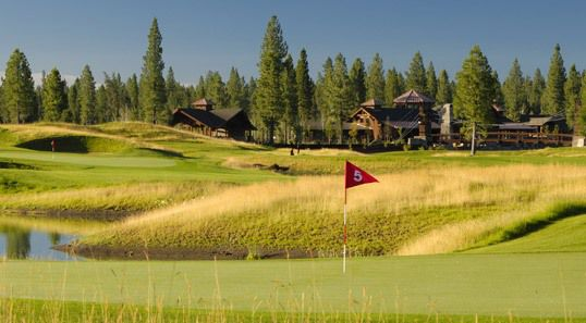 Sunriver Resort in Oregon: golf green