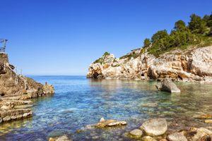 Beach in Deia, Mallorca