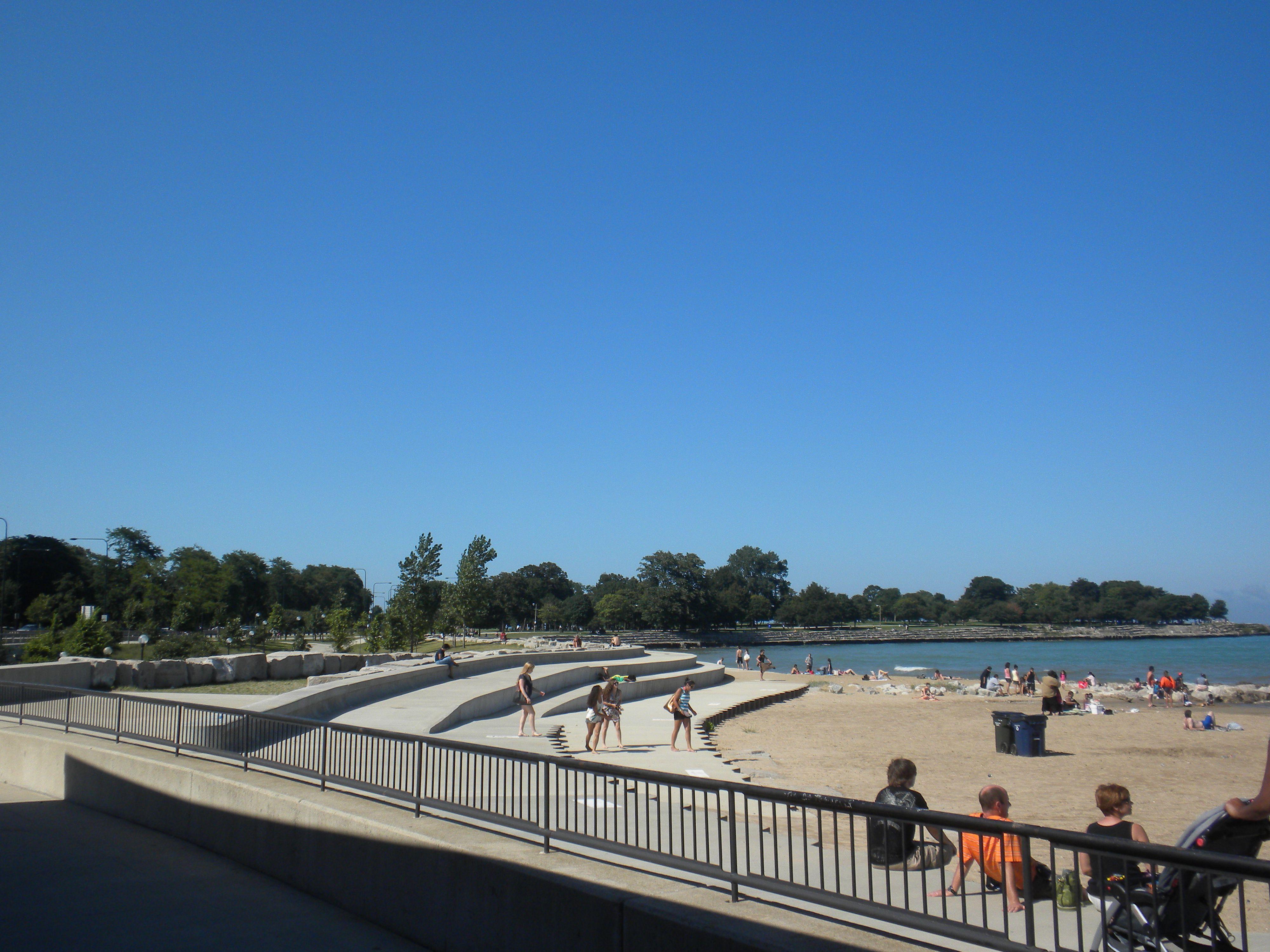 57th Street Beach Hyde Park, Chicago