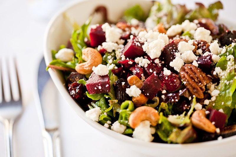 Cranberry Walnut salad beatniks bistro