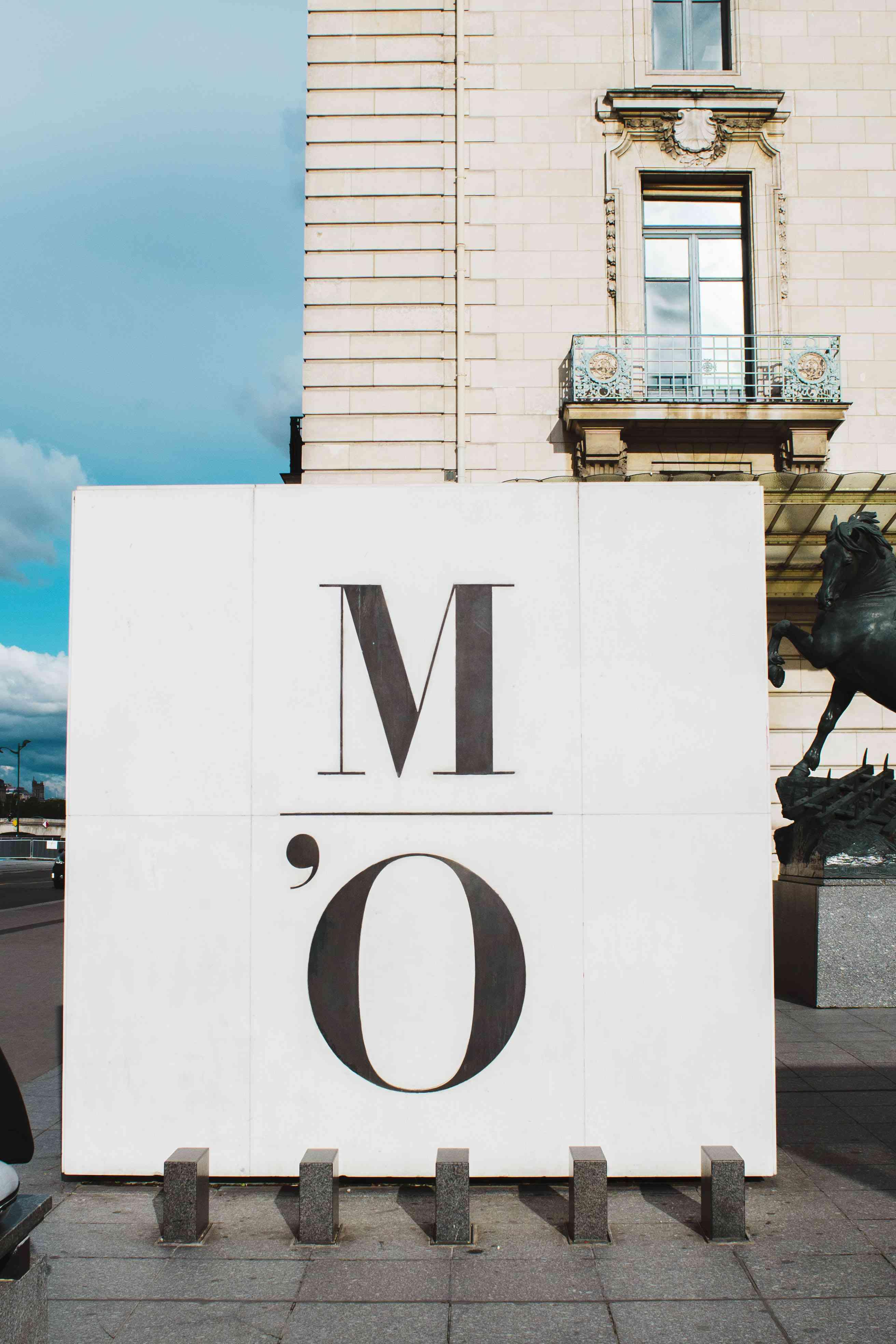 Sign for Museum du Orsay