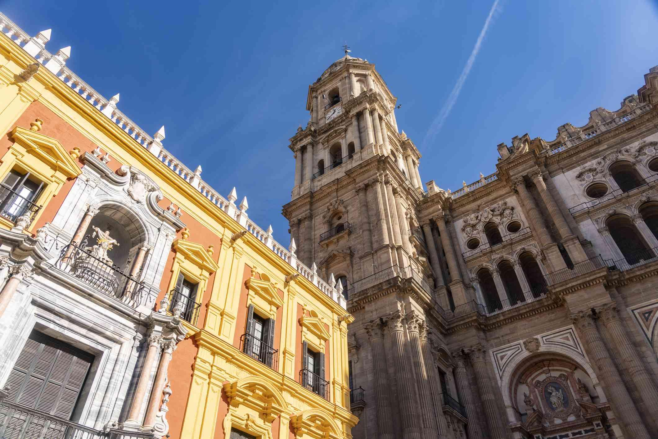 Spain, Malaga, Malaga cathedral