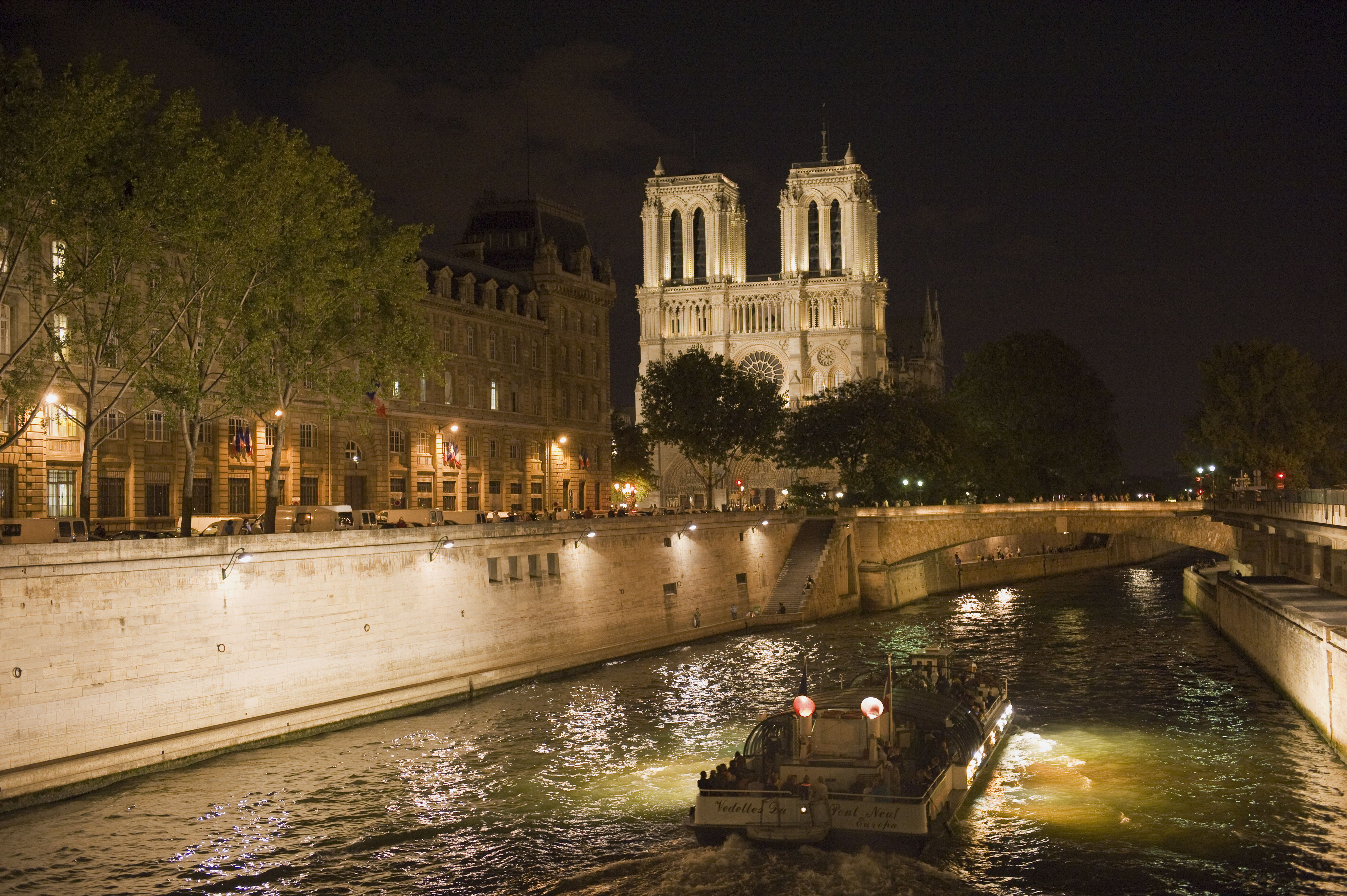 A night cruise of the Seine is always a good idea
