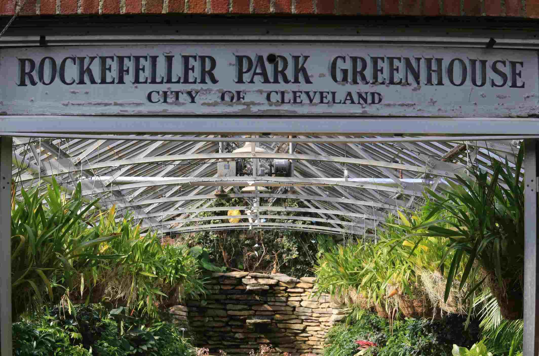 Cleveland's Rockefeller Park Greenhouse