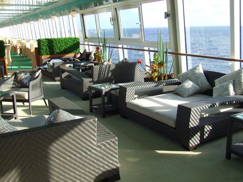The Sun or Shade Beds on the Norwegian Pearl