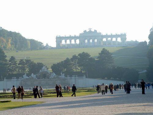 Palacio de Schonbrunn en Viena , Austria