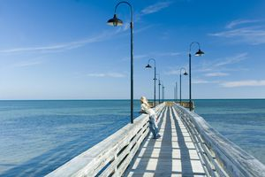 Pier, Islander Resort, Islamorada, Florida Keys Florida, USA