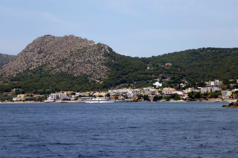 Agia Marina on Aegina Island, Greece