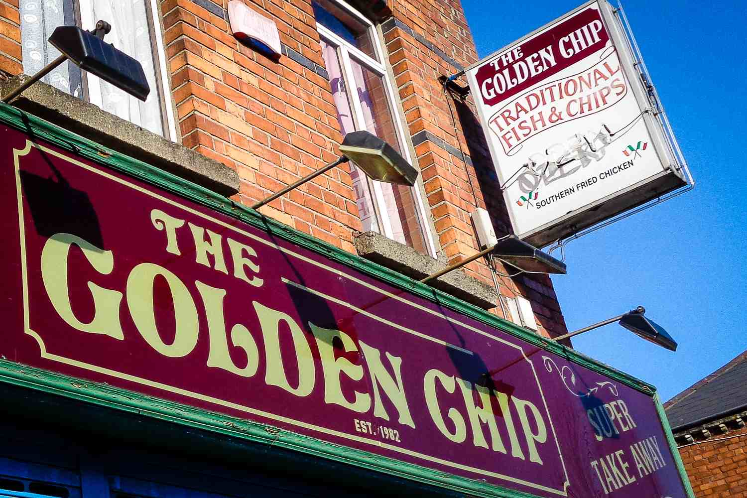 Fish & Chips, Old School - that's the Golden Chip