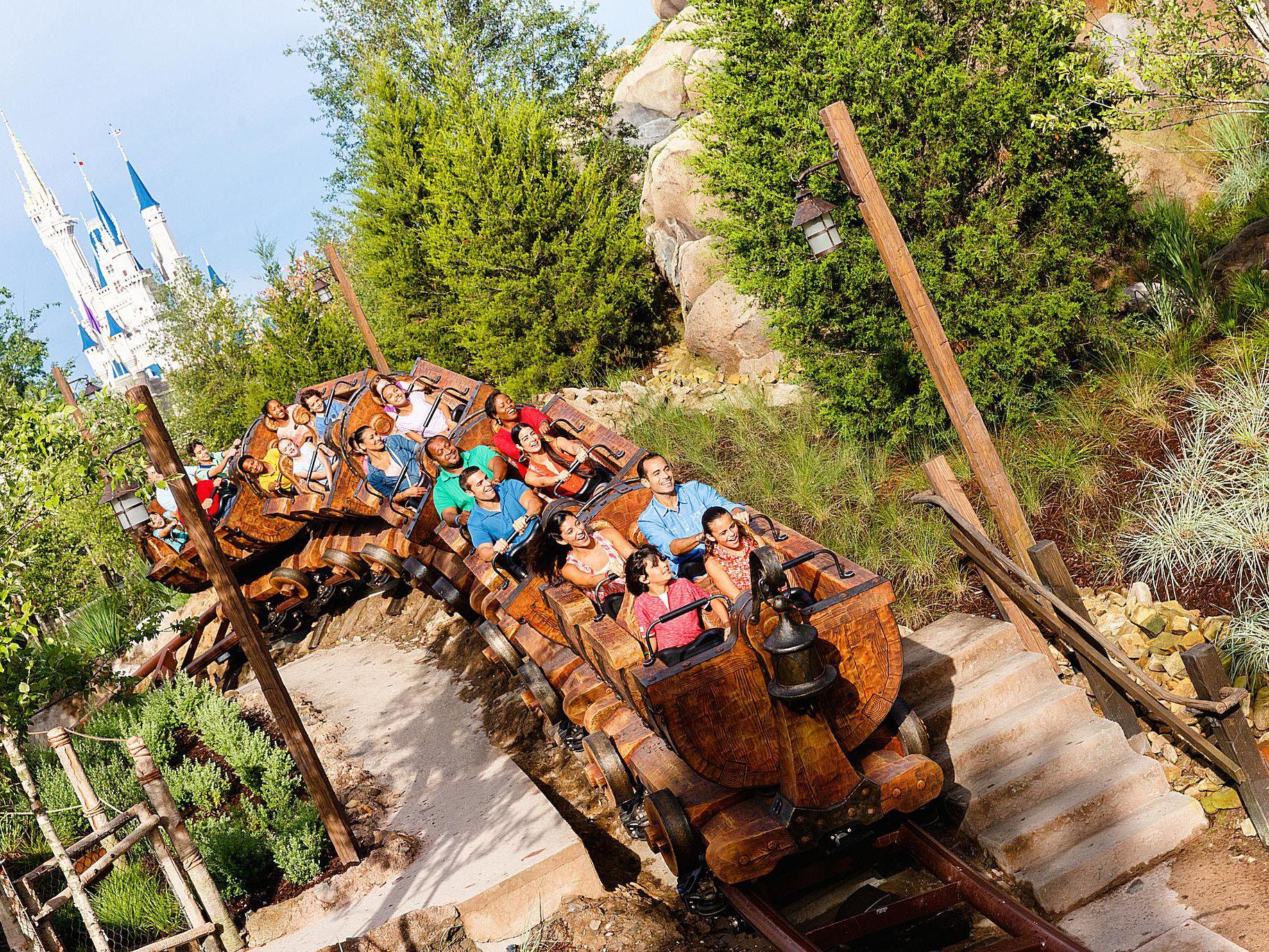 Seven Dwarfs Mine Train Ride Review