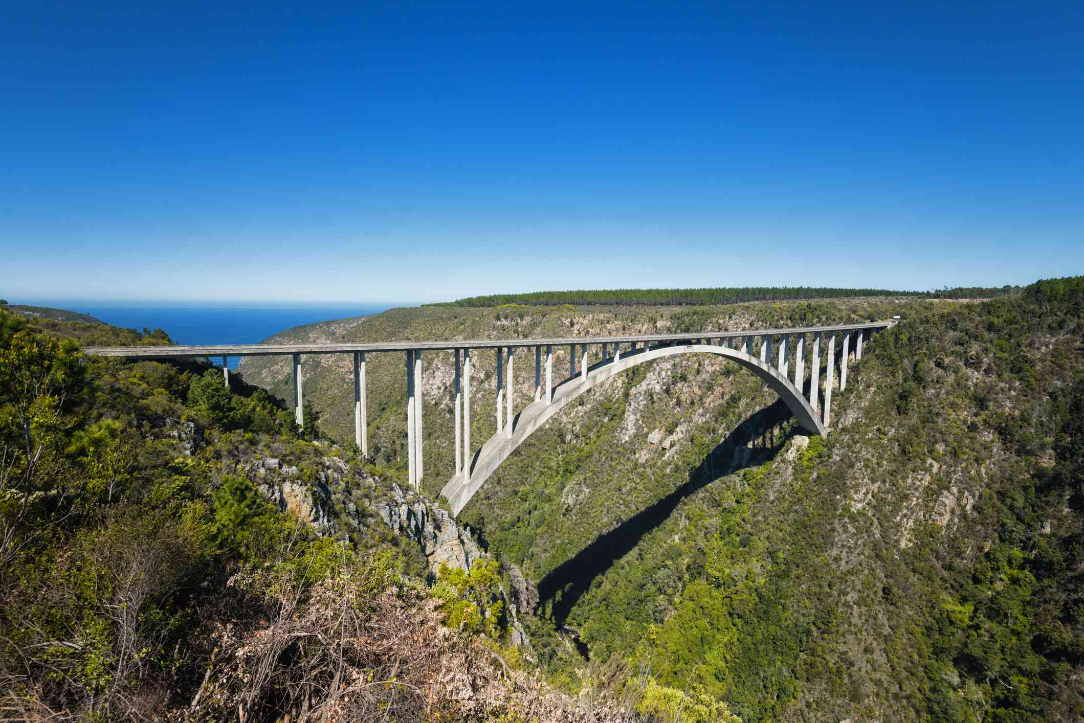 Bloukrans Bridge bungee jump, South Africa
