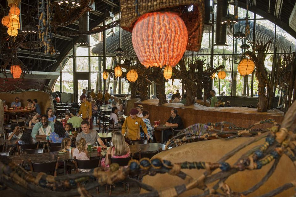Satu'li Canteen restaurant at Disney World
