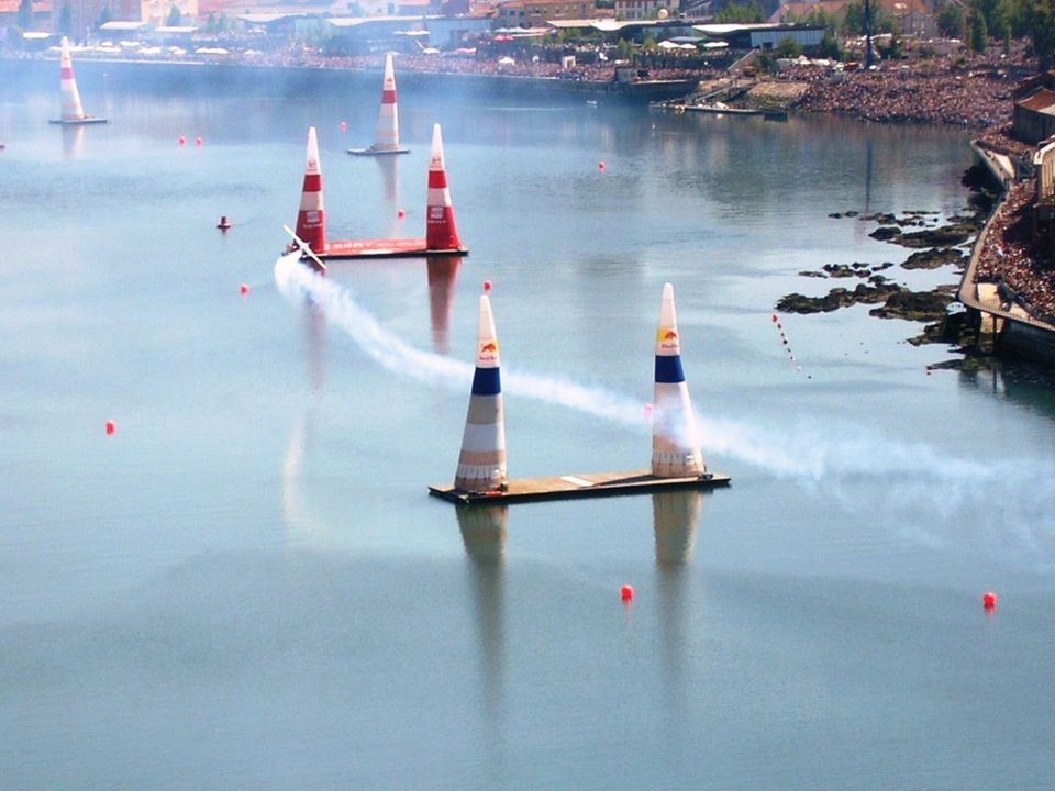 The Red Bull Air Race.