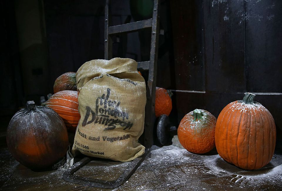 The London Dungeon Prepare For Halloween
