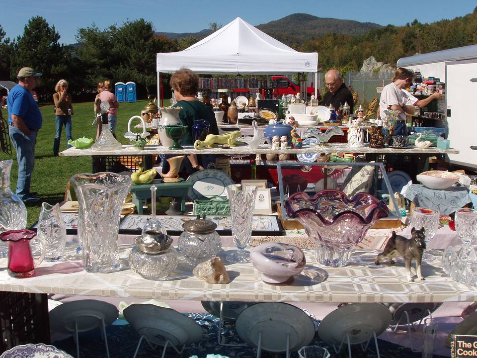 Waterbury VT Flea Market