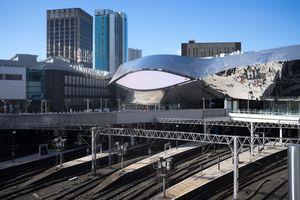 Revamped Birmingham New Street Station