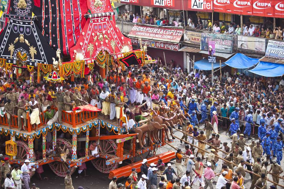 The Puri Rath Yatra Chariots and Why They're Remarkable
