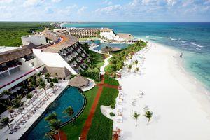 aerial view of Grand Velas Riviera Maya resort