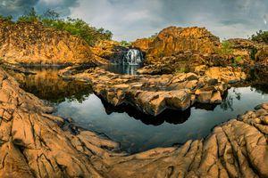 Upper Pool of Edith Falls