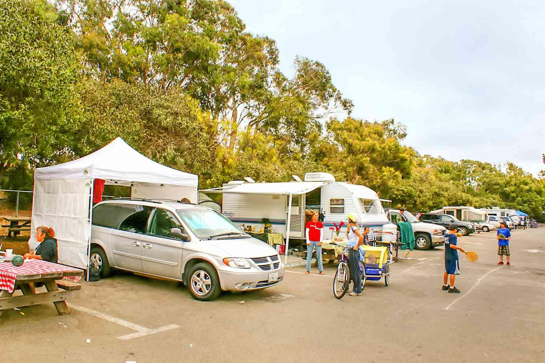Camping en Carpinteria State Beach