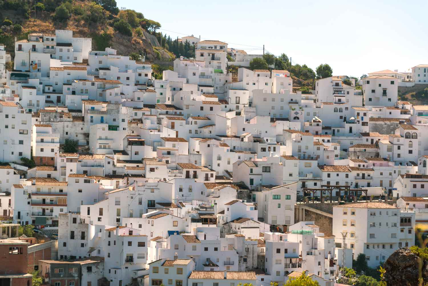 Whitewashed houses in southern Spain