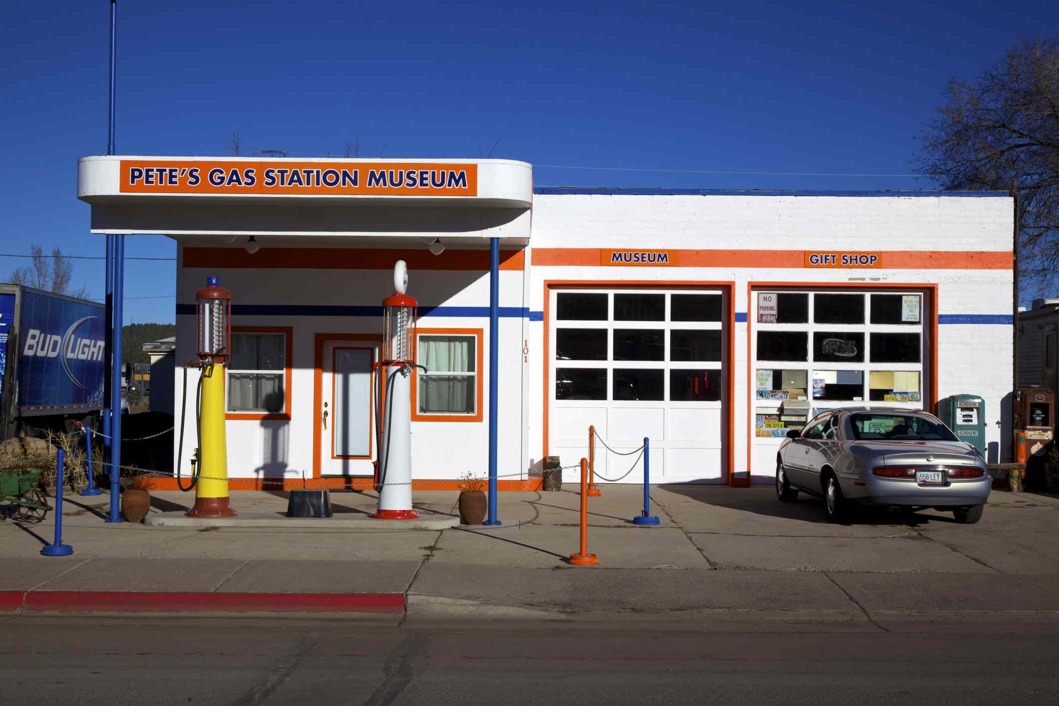 Pete's Station and Museum on Route 66. Williams, Arizona,