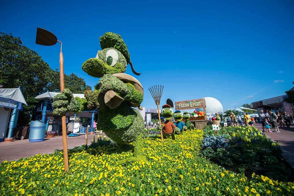 Epcot International Flower & Garden Festival 2017