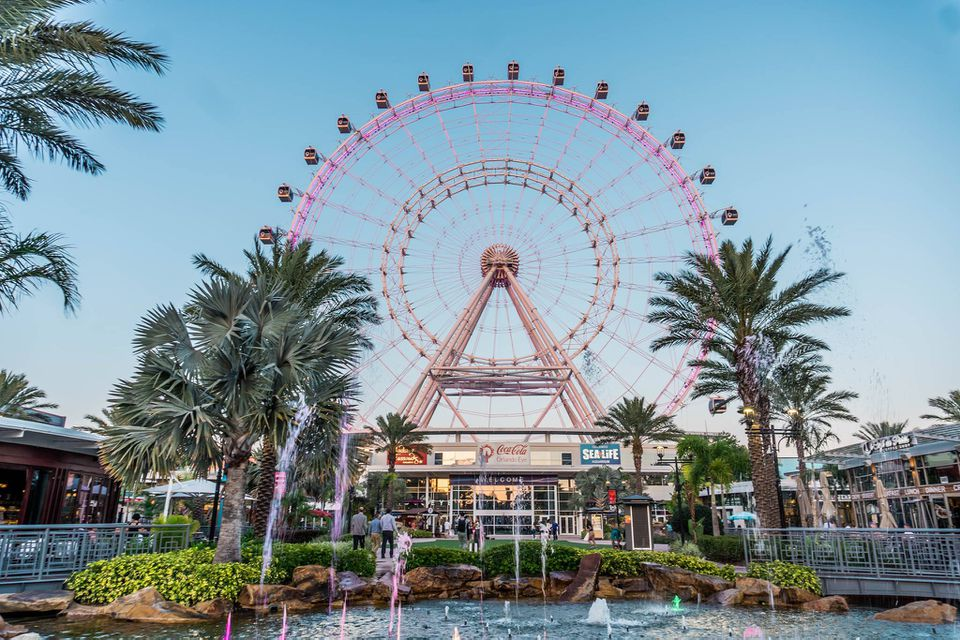 Icon orlando observation wheel