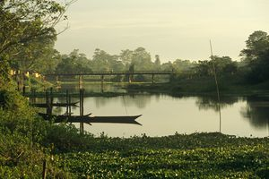 Majuli Island, Assam.