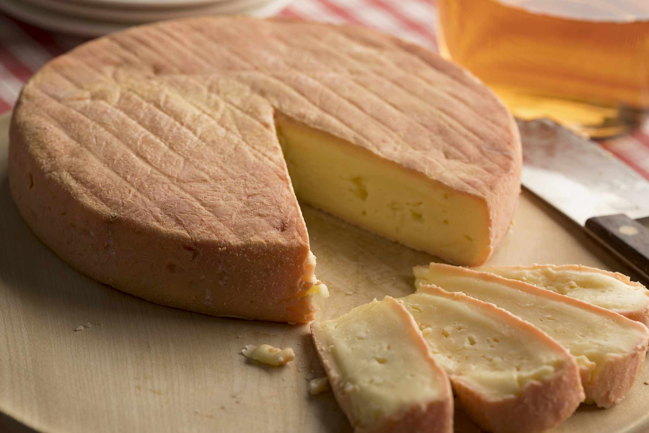 Munster cheese is traditionally produced in Alsace, France