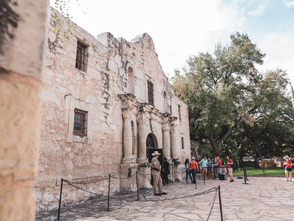 El Álamo en San Antonio, Texas