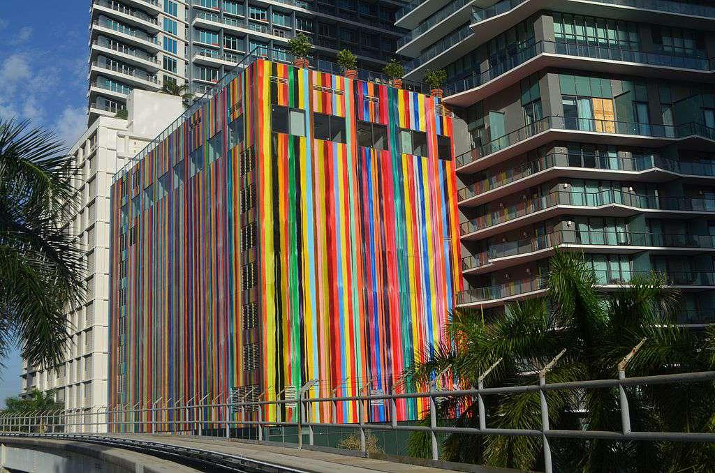 Exterior of SLS Brickell