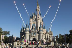 A new welcome show takes place each morning on the Cinderella Castle Forecourt Stage at Magic Kingdom Park.