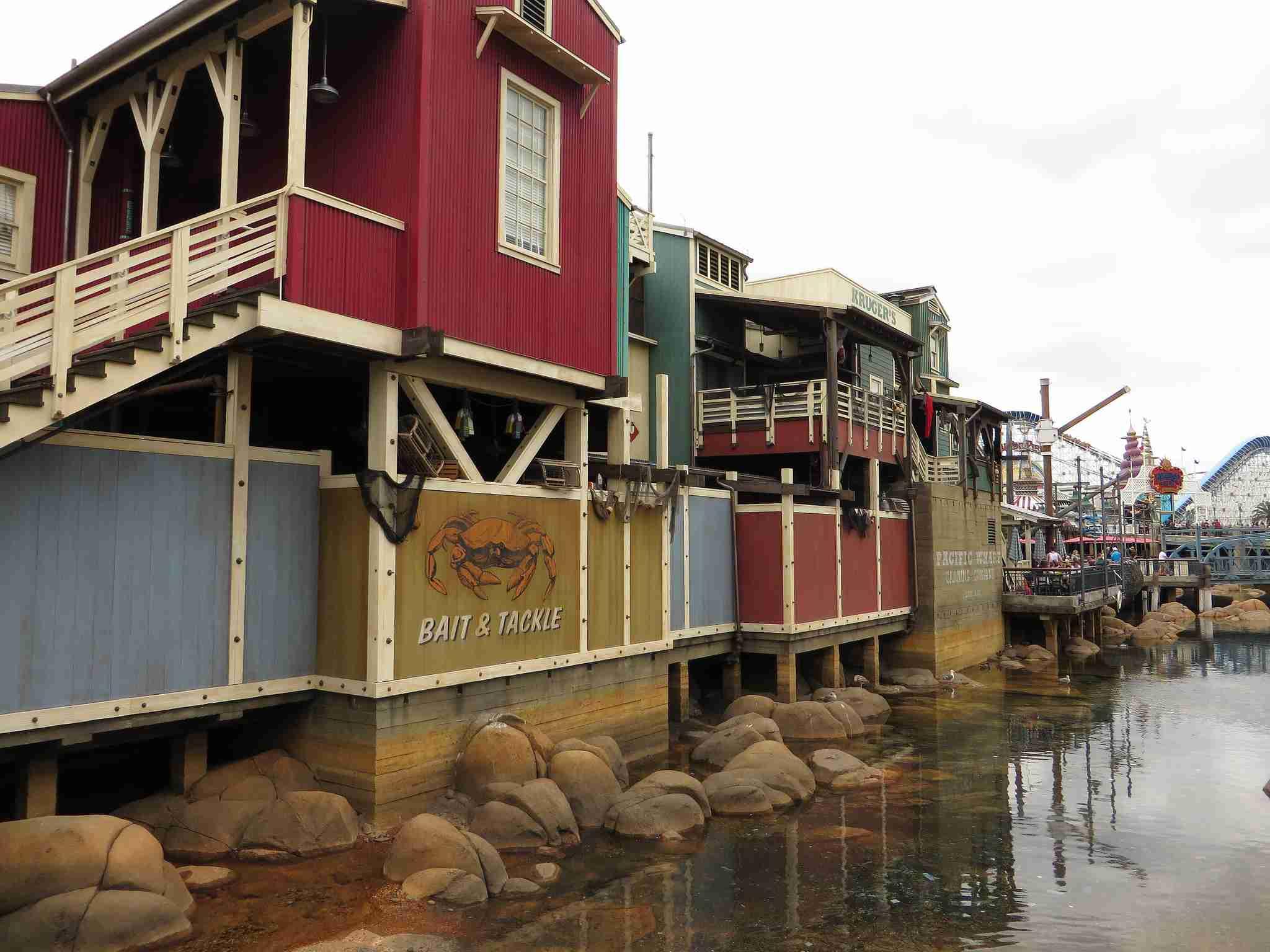 Pacific Wharf, Disney California Adventure, Anaheim, California