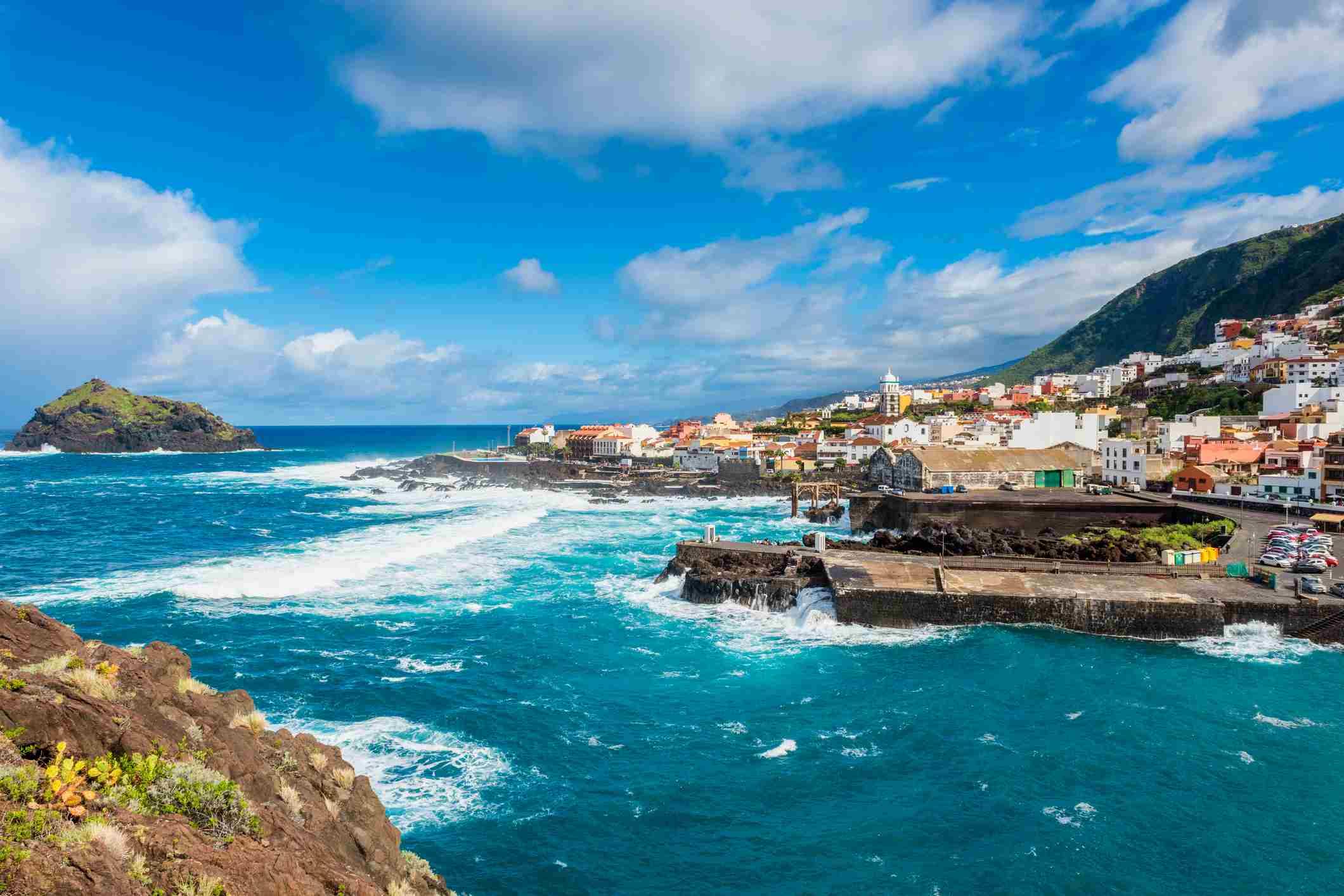 Coastal village of Garachico Tenerife