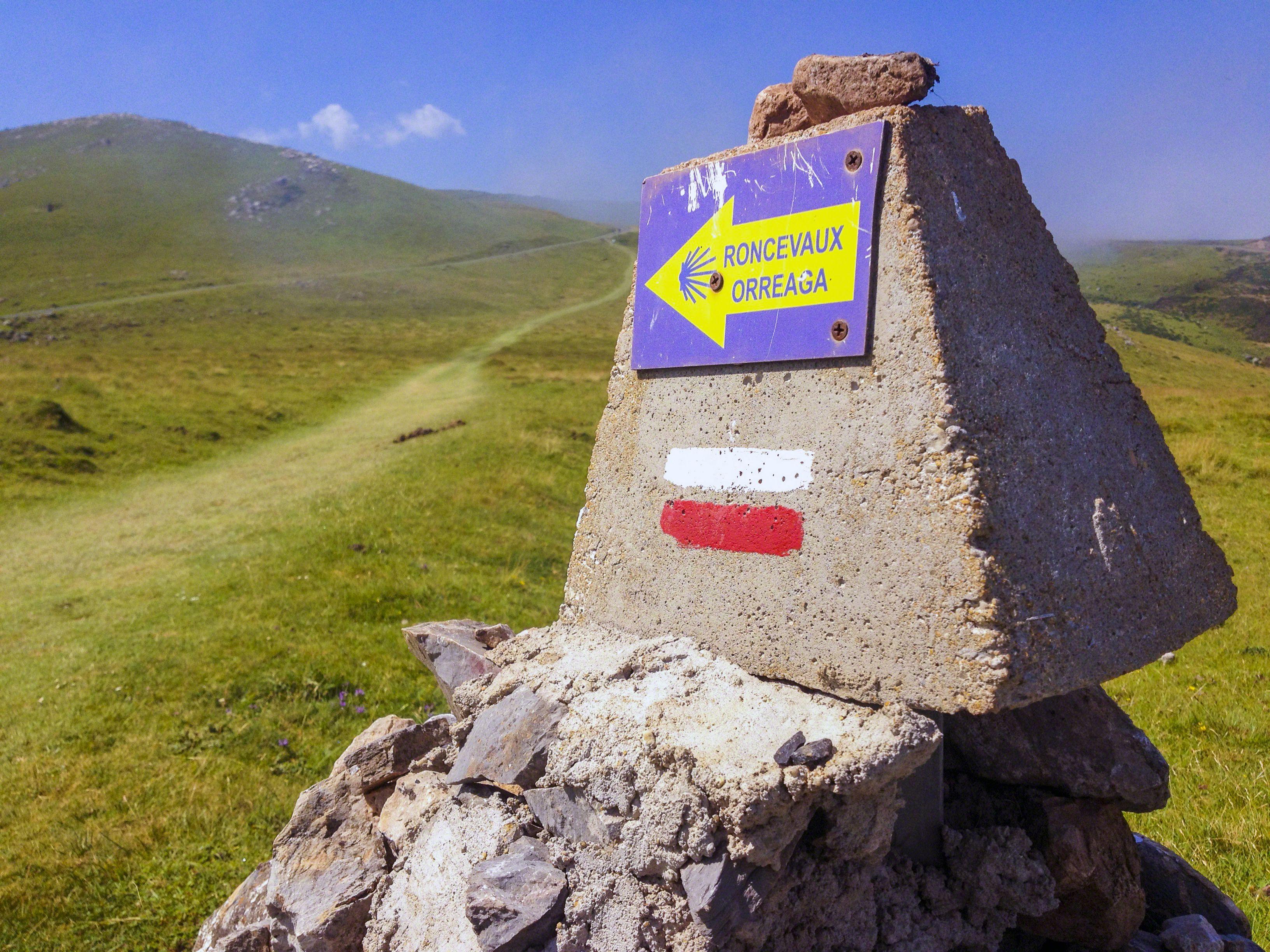 Camino de Santiago signs