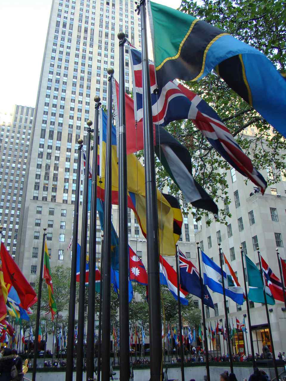 Rockefeller Center is a favorite Manhattan attraction.
