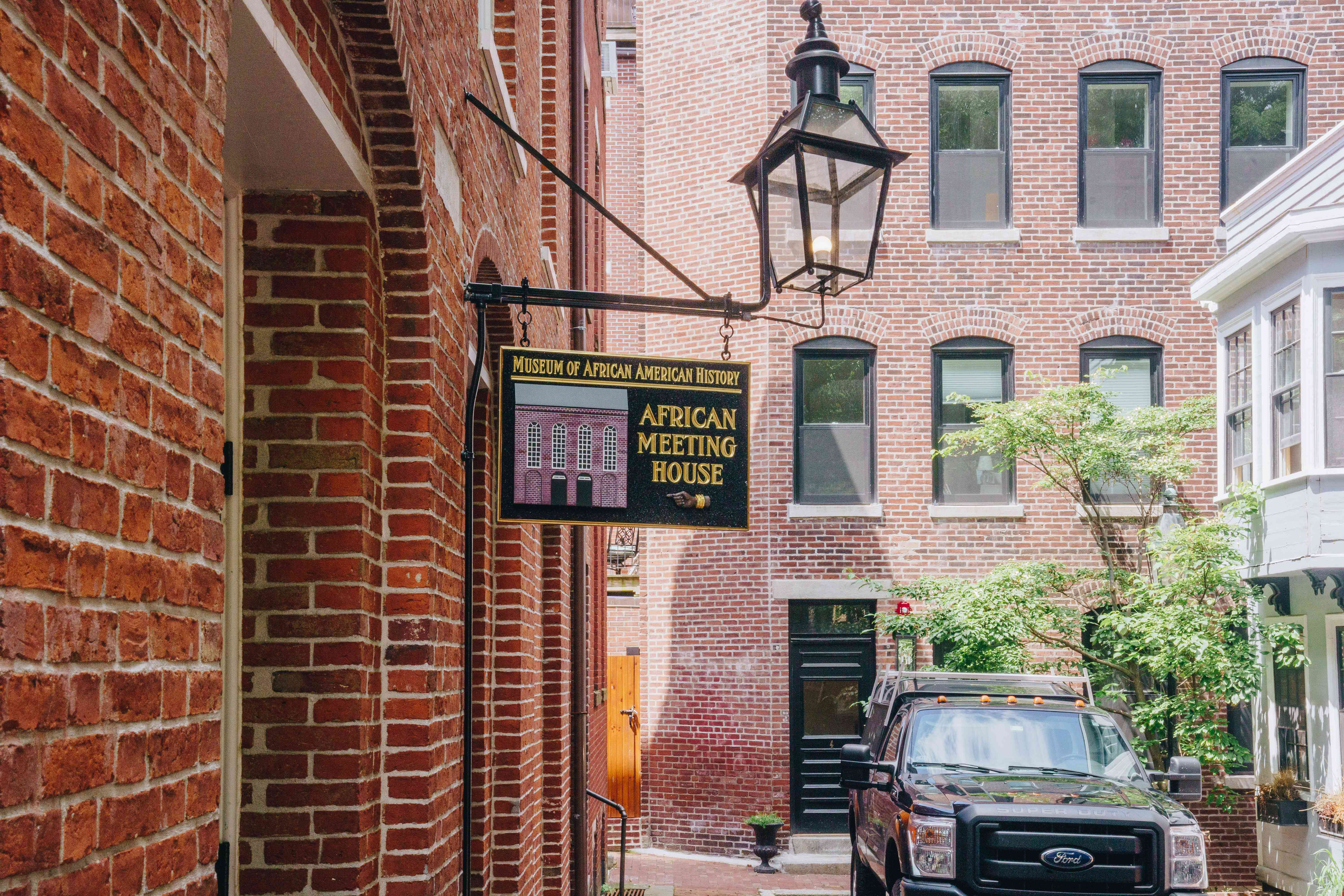 African Meeting House on the Black Heritage Trail in Boston