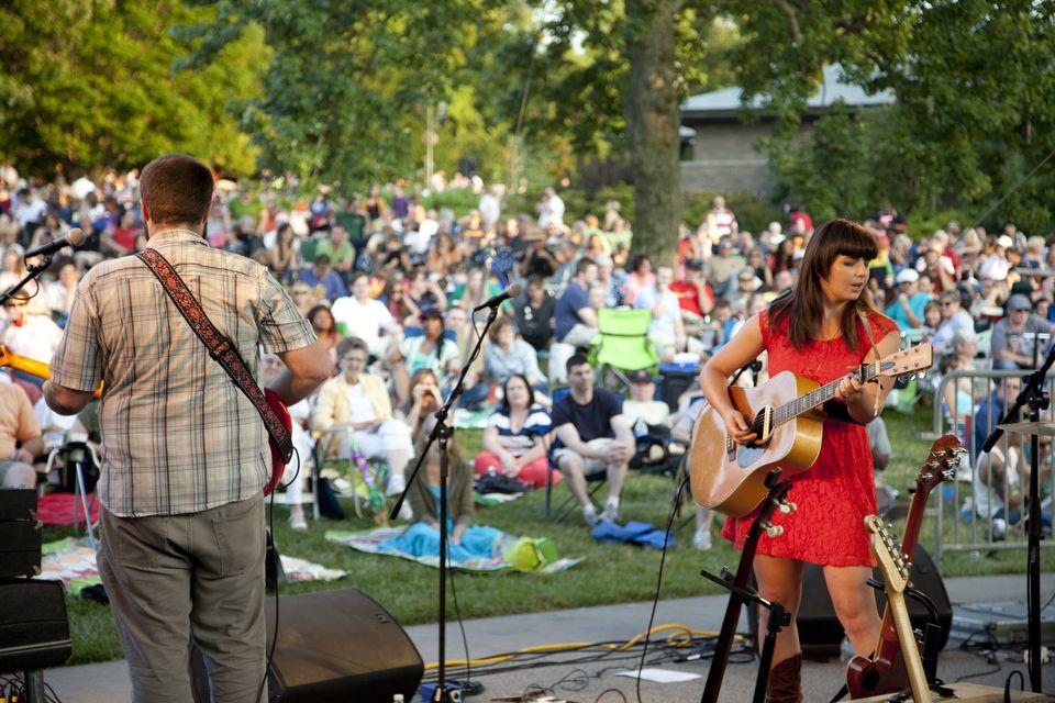 Whitaker Music Festival at Missouri Botanical Garden