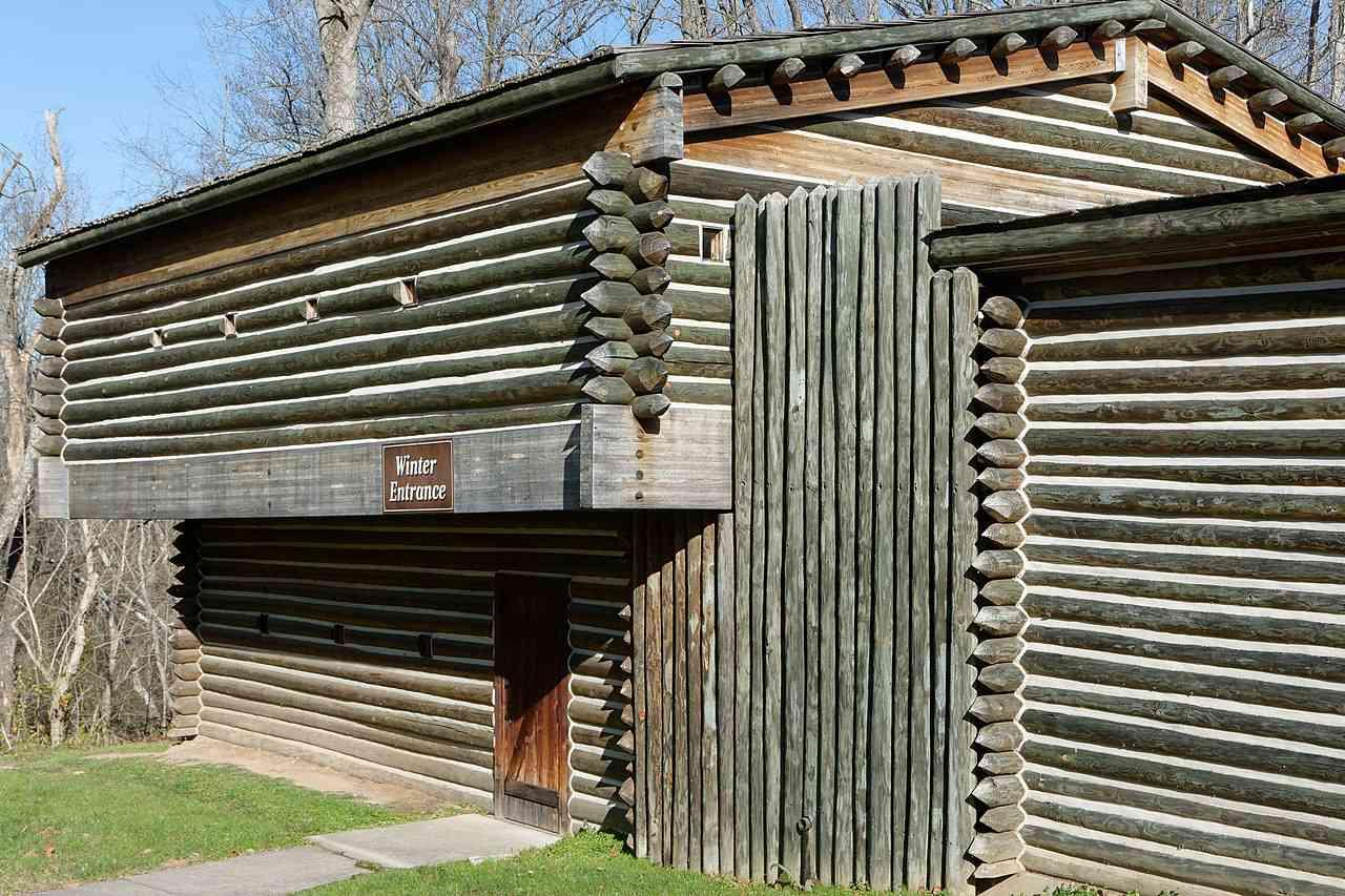 Reproduction of Fort Boonesborough