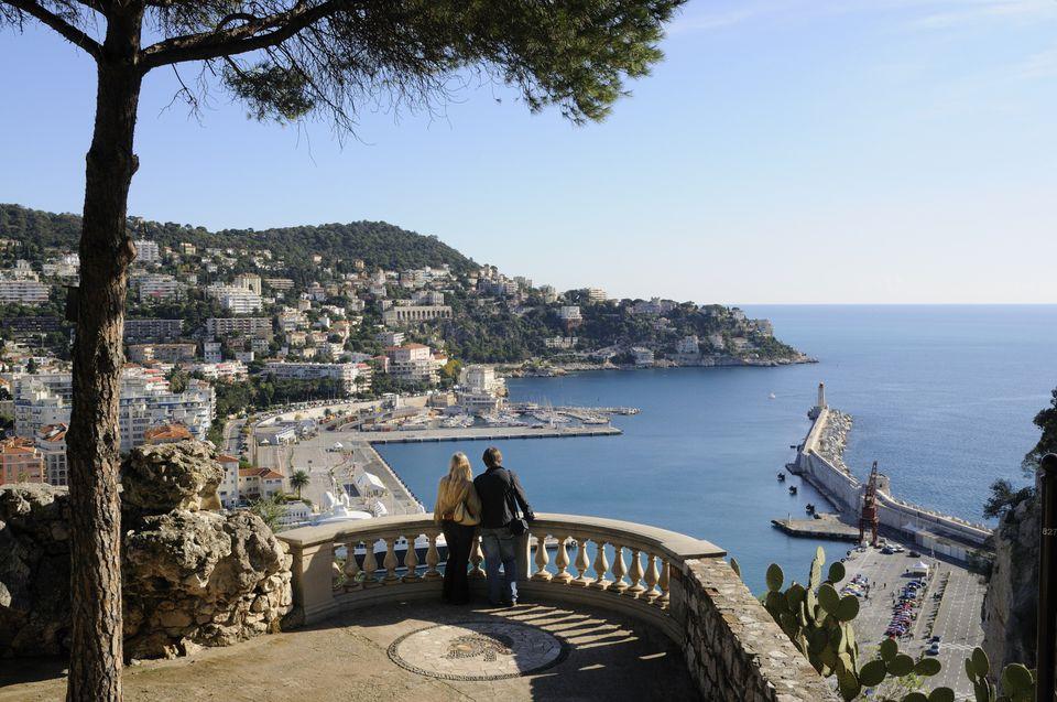 Vista de Niza y la Baie des Anges