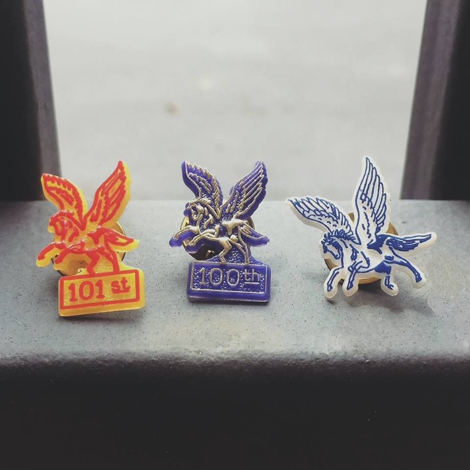 Pegasus Pin designs