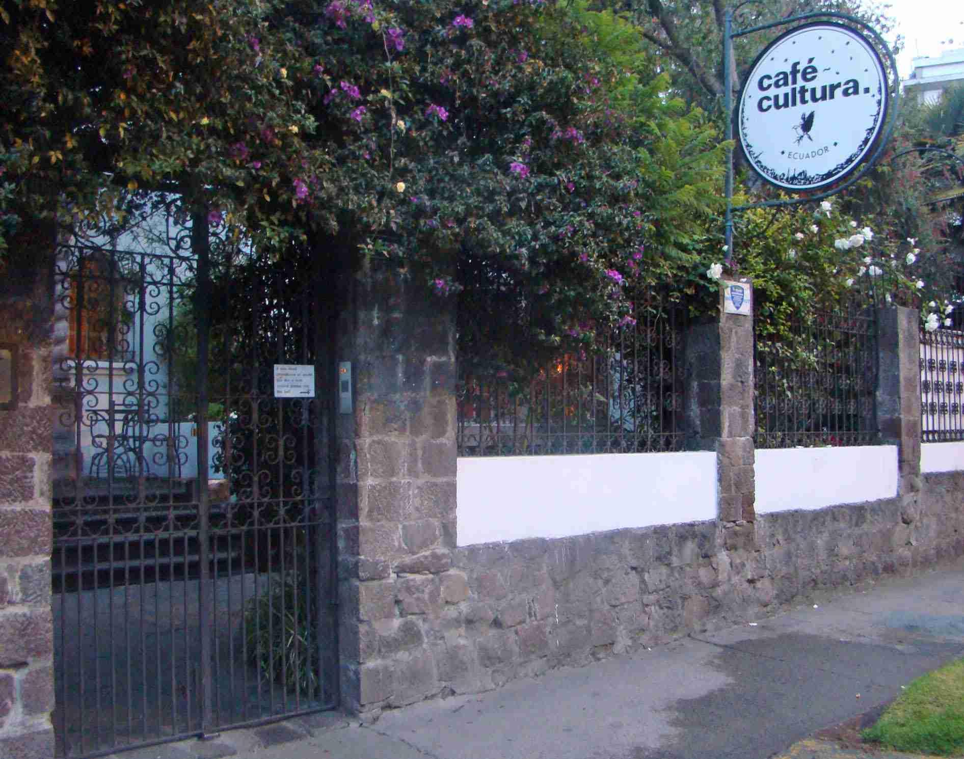 Cafe Cultura, Quito, Ecuador
