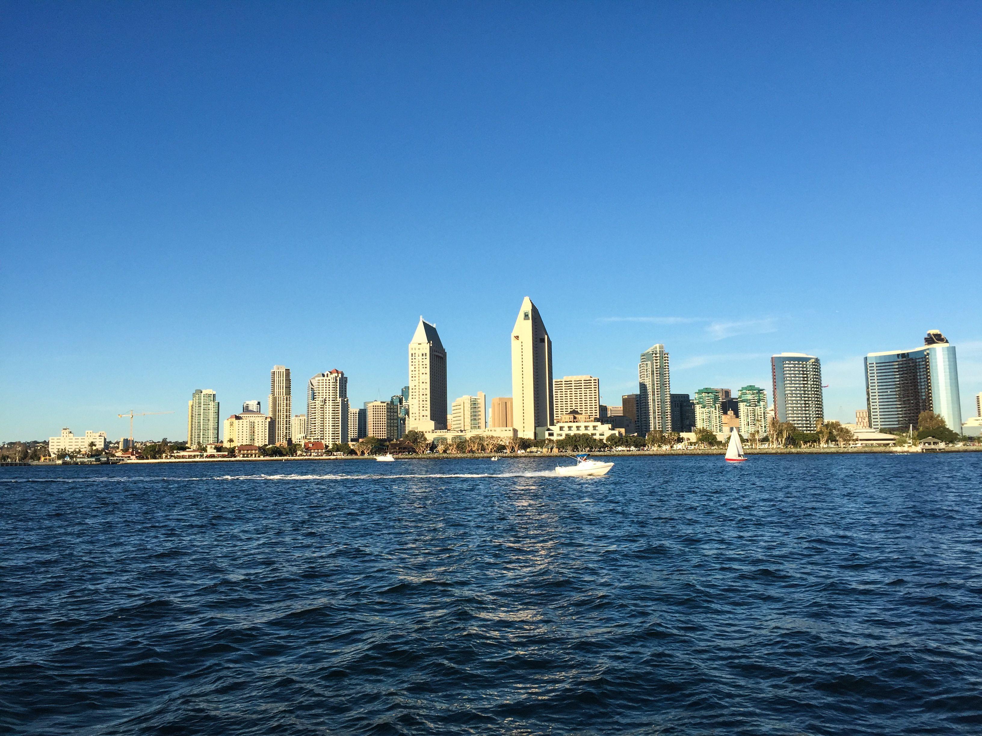 Boating in San Diego Bay