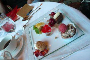 Alice's gigantic pudding, Napa Rose, Disneyland, Anaheim, Los Angeles, CA.JPG