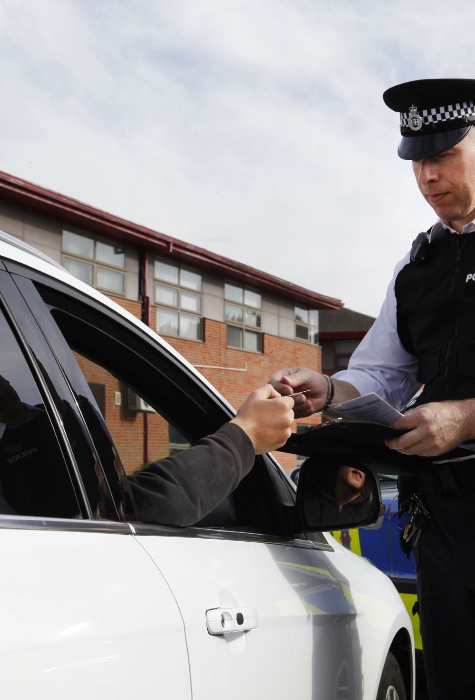 Checking a drivers id in Britain