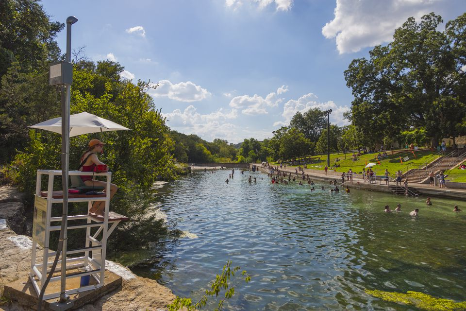 Barton Springs in Austin