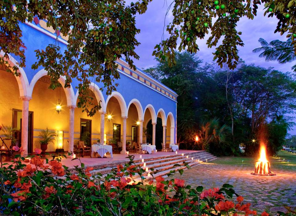 The real Mexico, at Hacienda Santa Rosa hotel in Yucatan