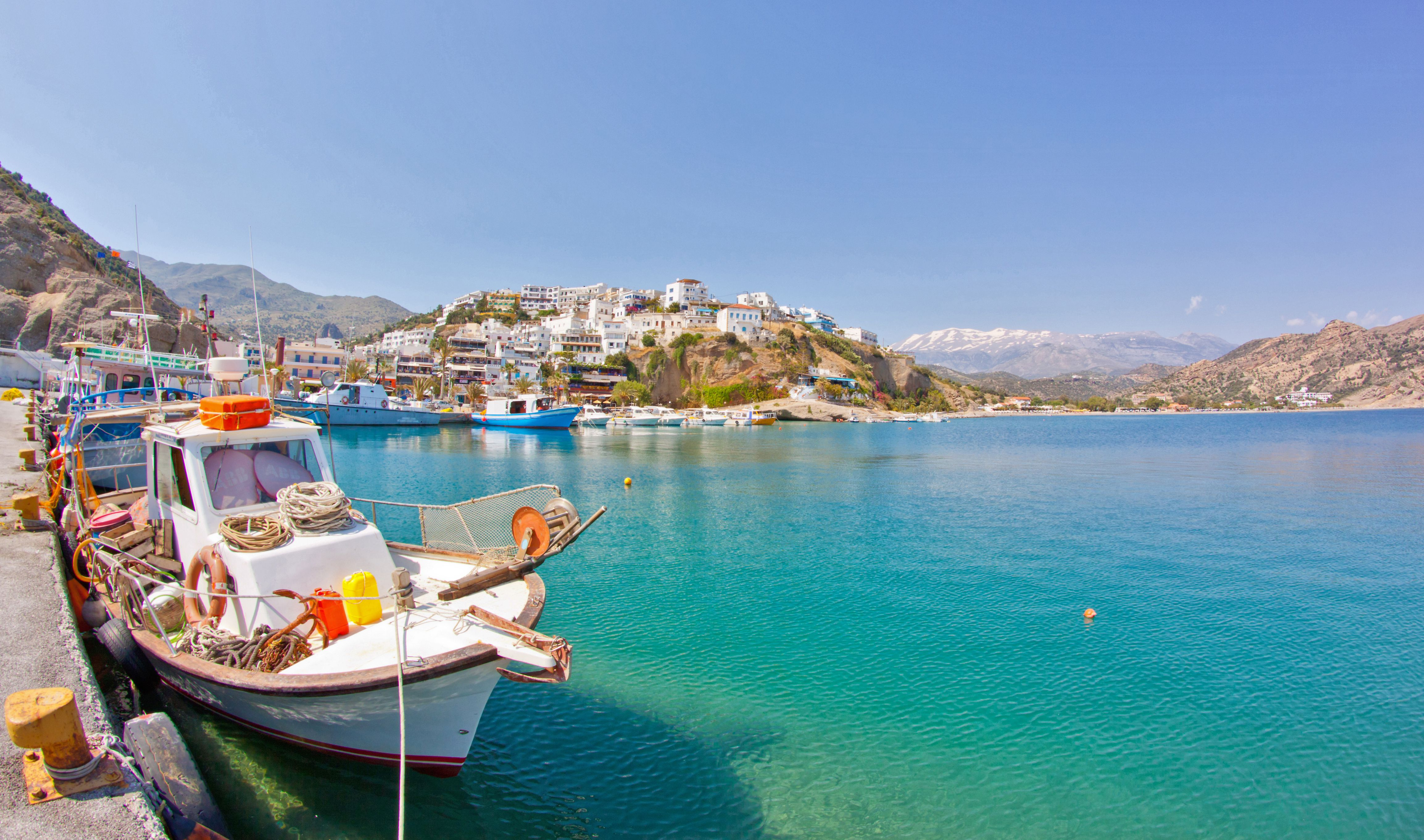 The Weather And Climate In Crete, Greece