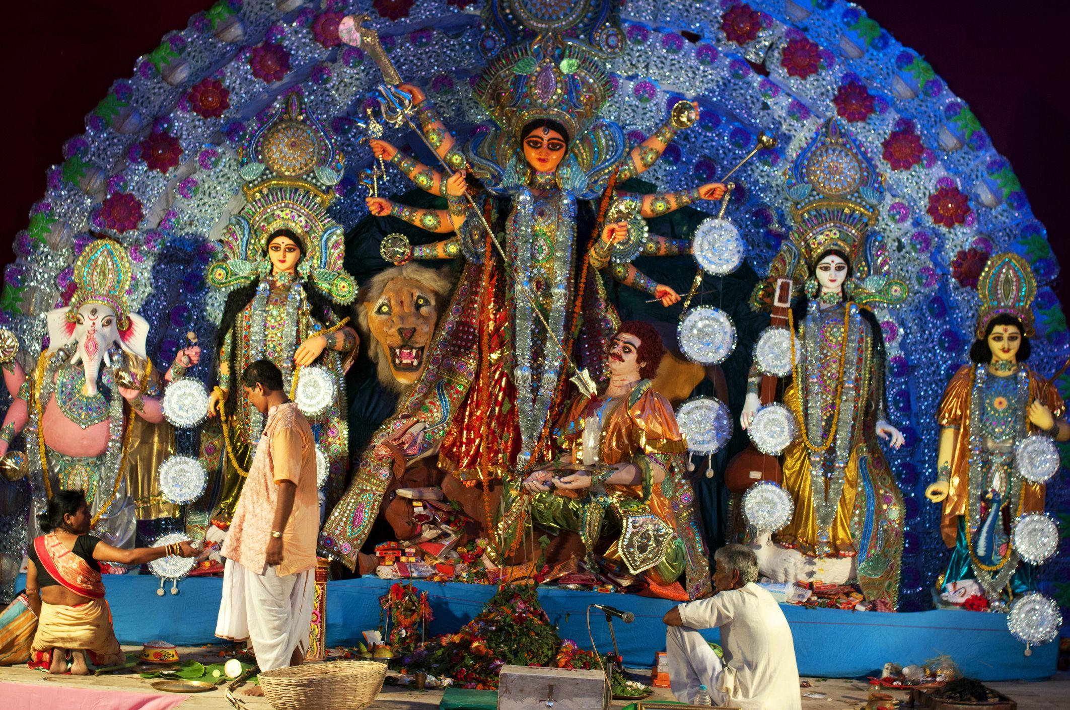 Traditional Durga Idol